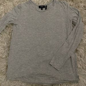 Theory drapey long sleeve tee